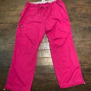 Pink Koi Lindsey Scrub Pants